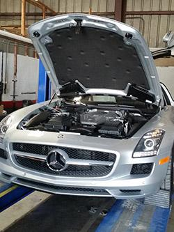 Mercedes benz maintenance repair performance specialists for Mercedes benz restoration specialists